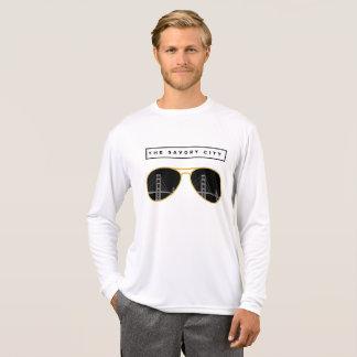 the Savory City - San Francisco mens long sleeve T-Shirt