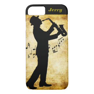 The sax player Iphone cover. iPhone 7 Case