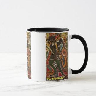 The Sax Player Mug