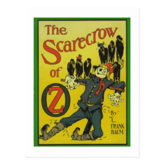 The Scarecrow Of Oz Postcards