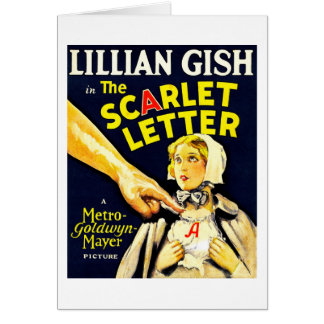 The Scarlet Letter (1926) Greeting Card