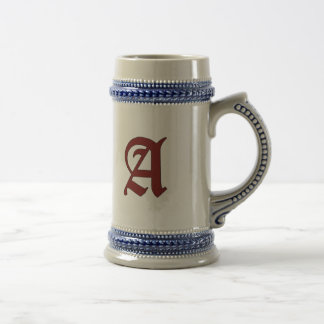 The Scarlet Letter Beer Stein