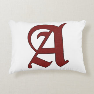 The Scarlet Letter Decorative Cushion