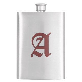 The Scarlet Letter Hip Flask