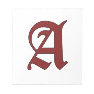 The Scarlet Letter Notepad