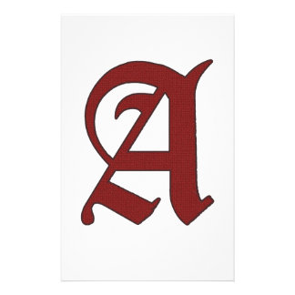 The Scarlet Letter Stationery