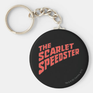 The Scarlet Speedster Logo Key Ring