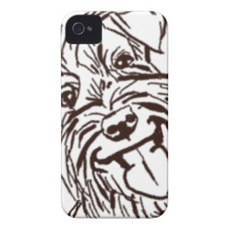 The Schnauzer Love of My Life iPhone 4 Cover
