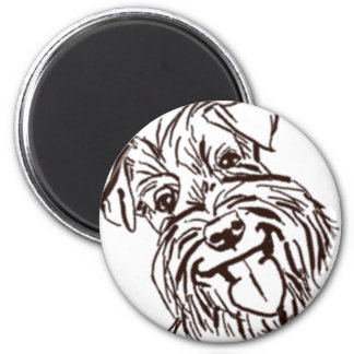 The Schnauzer Love of My Life Magnet