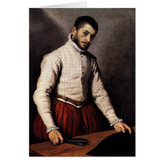 The Schneider / Il Sarto By Giambattista Moroni. Card