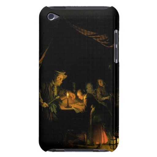 The School Master, 1660-65 (oil on panel) Barely There iPod Cover