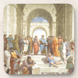 The School of Athens Drink Coasters