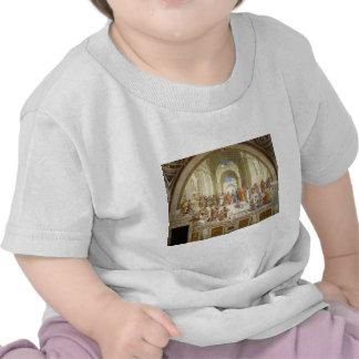 The School of Athens Fresco by Raffaello Sanzio Tee Shirt