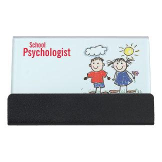 The School Psychologist's Business Card Holder