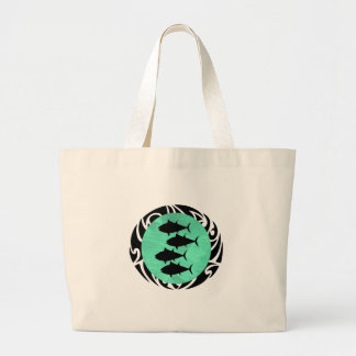 THE SCHOOL TRIBE LARGE TOTE BAG