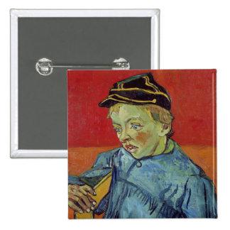 The Schoolboy, 1889-90 15 Cm Square Badge