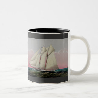 The Schooner Two-Tone Coffee Mug
