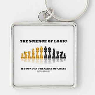 The Science Of Logic Is Found In The Game Of Chess Key Ring