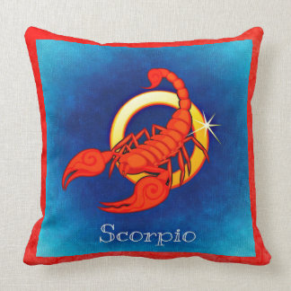 The Scorpio Horoscope Sign Zodiac Astrology Pillow