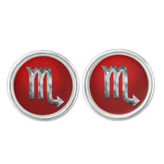 The Scorpion Astrological Sign Cufflinks
