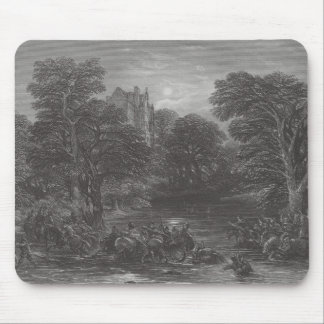 The Scots pursued after the Battle of Preston Mousepad