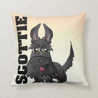 The Scottish Terrier Throw Pillow