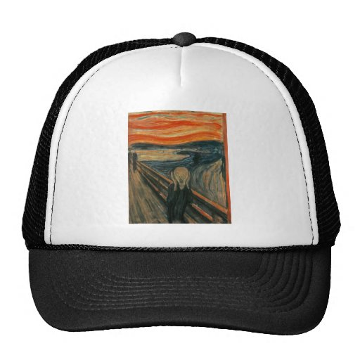 The Scream by Edvard Munch Cap