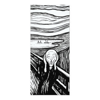 The Scream by Edvard Munch Card