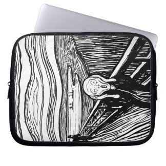 The Scream by Edvard Munch Computer Sleeve