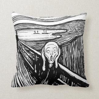 The Scream by Edvard Munch Cushion