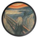 The Scream by Edvard Munch Dinner Plate