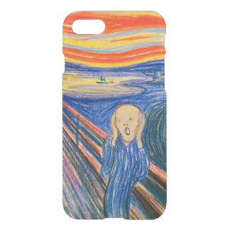 The Scream by Edvard Munch (in pastel) iPhone 7 Case