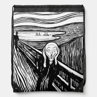 The Scream by Edvard Munch   Lithograph Backpacks