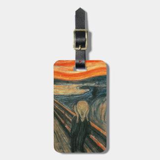 The Scream by Edvard Munch Luggage Tag