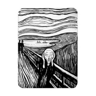 The Scream by Edvard Munch Magnet