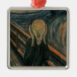 The Scream by Edvard Munch Ornament