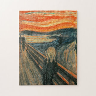 The Scream by Edvard Munch Puzzles