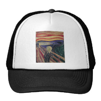 The Scream by Edvard Munch Vintage Expressionism Trucker Hats