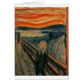 The Scream Card