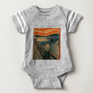 The Scream - Edvard Munch. Painting Artwork. Baby Bodysuit