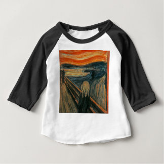 The Scream - Edvard Munch. Painting Artwork. Baby T-Shirt