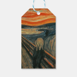 The Scream - Edvard Munch. Painting Artwork. Gift Tags