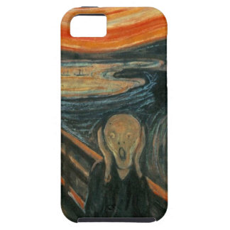 The Scream - Edvard Munch. Painting Artwork. iPhone 5 Cover