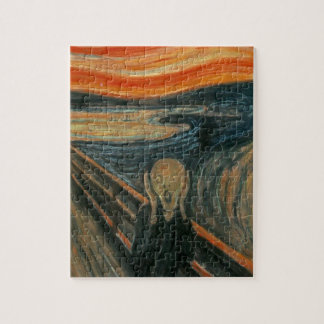 The Scream - Edvard Munch. Painting Artwork. Jigsaw Puzzle