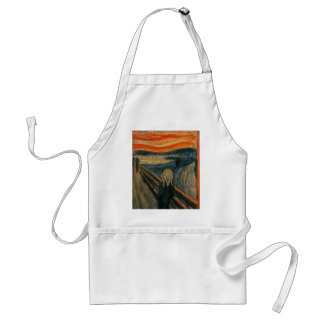 The Scream - Edvard Munch. Painting Artwork. Standard Apron