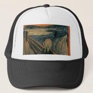 The Scream - Edvard Munch. Painting Artwork. Trucker Hat