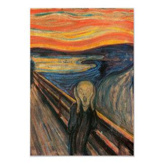 The Scream Invitation