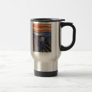 The Scream (pastel 1895) High Quality Travel Mug