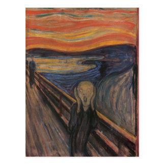 The Scream Postcard