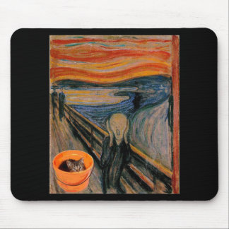"""""""The Scream"""" re-visited Mouse Pad"""